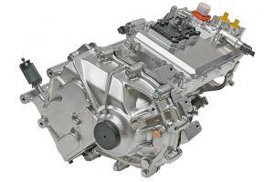 Integrovaná pohonná jednotka obsahuje okrem elektromotora aj výkonovú elektroniku a redukčnú prevodovku.
